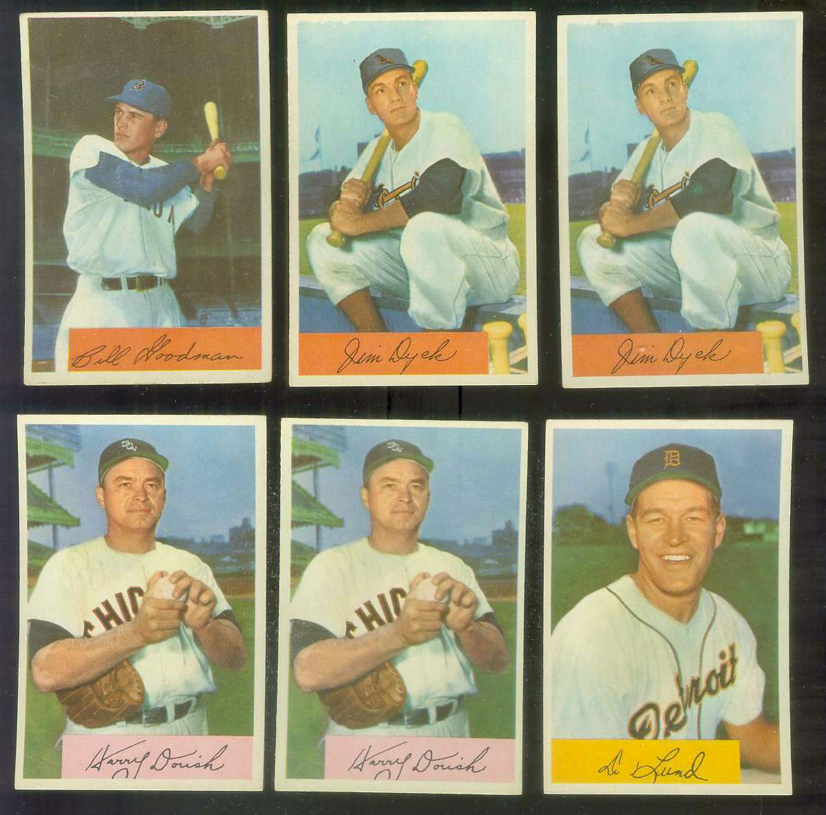 1954 Bowman # 86 Harry Dorish (White Sox) Baseball cards value