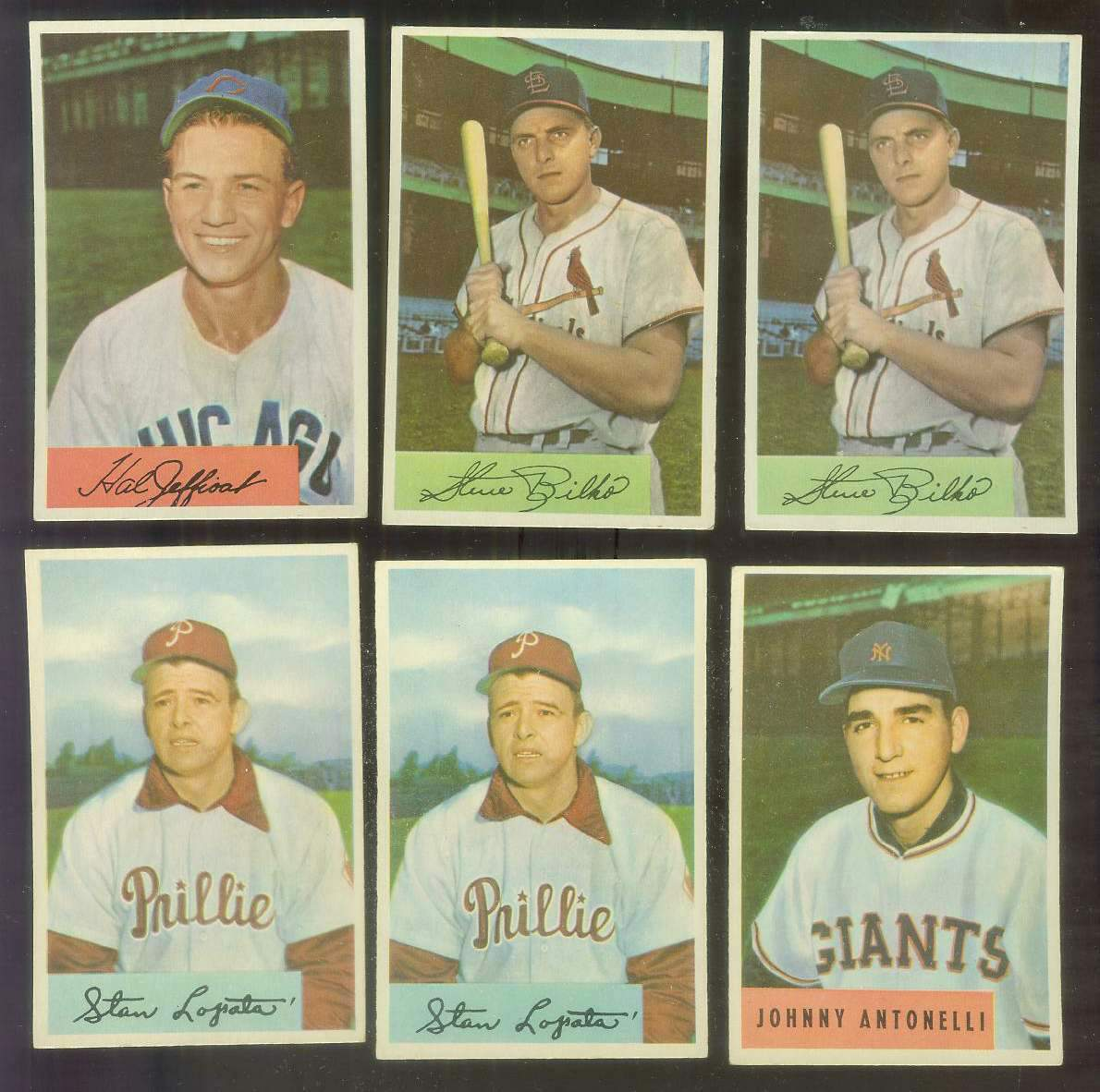 1954 Bowman #207 Stan Lopata (Phillies) Baseball cards value
