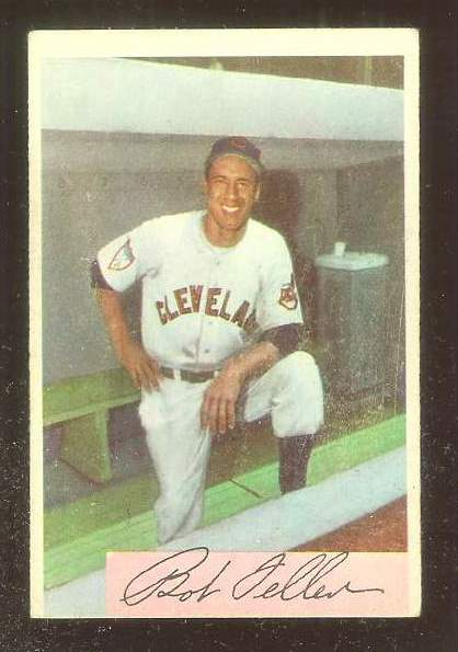 1954 Bowman #132 Bob Feller (Indians) Baseball cards value