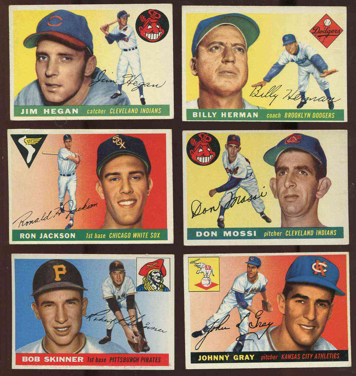 1955 Topps #.88 Bob Skinner ROOKIE [#x] (Pirates) Baseball cards value
