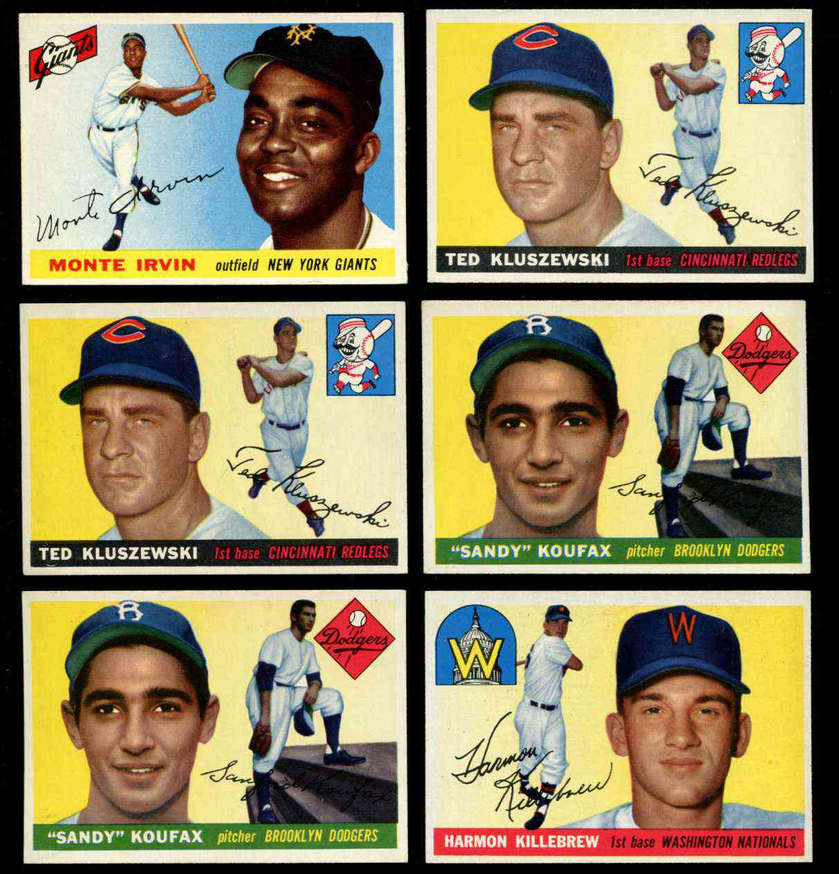 1955 Topps #123 Sandy Koufax ROOKIE [#j] (Brooklyn Dodgers) Baseball cards value