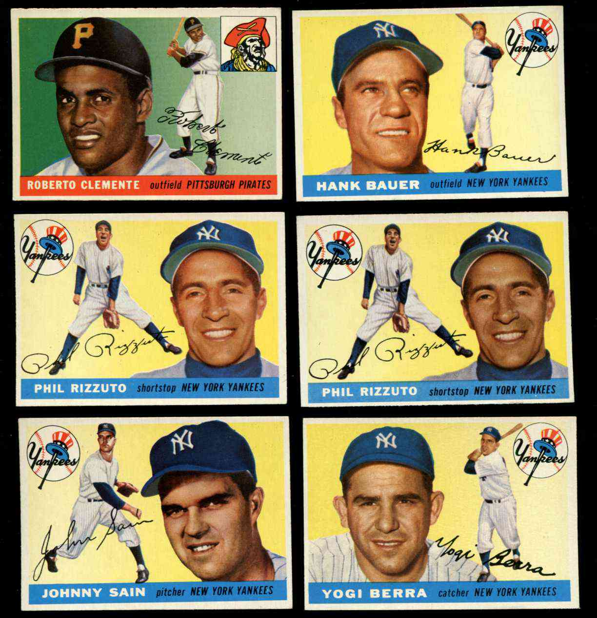 1955 Topps #198 Yogi Berra SCARCE HIGH NUMBER [#j1] (Yankees) Baseball cards value