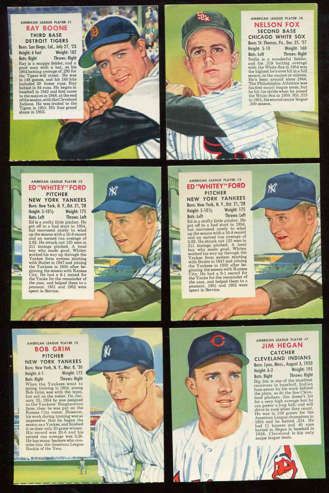 1955 Red Man #AL.3 Whitey Ford [Expires April] (Yankees) Baseball cards value