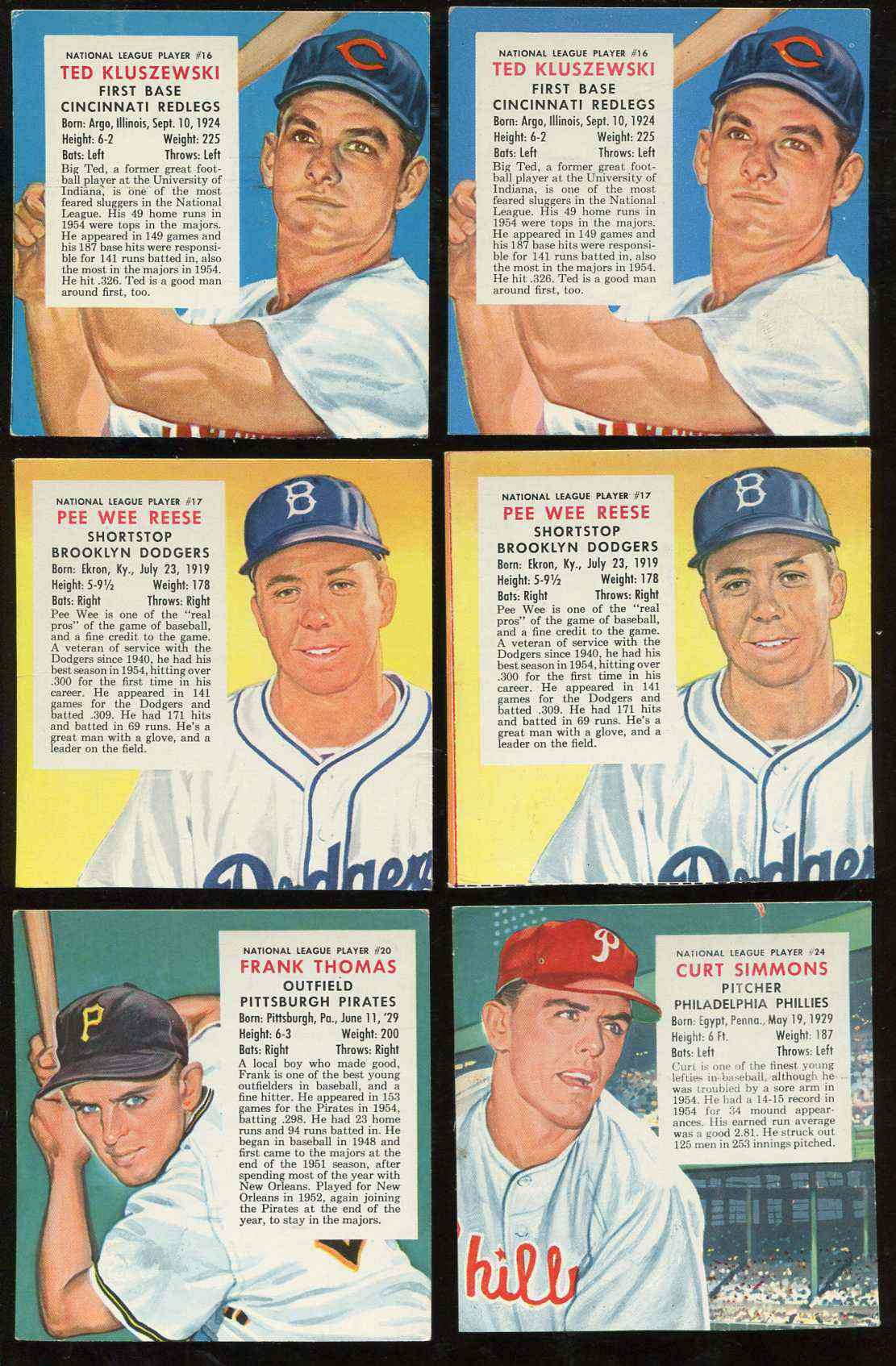 1955 Red Man #NL17 Pee Wee Reese [Expires June] (Dodgers) Baseball cards value