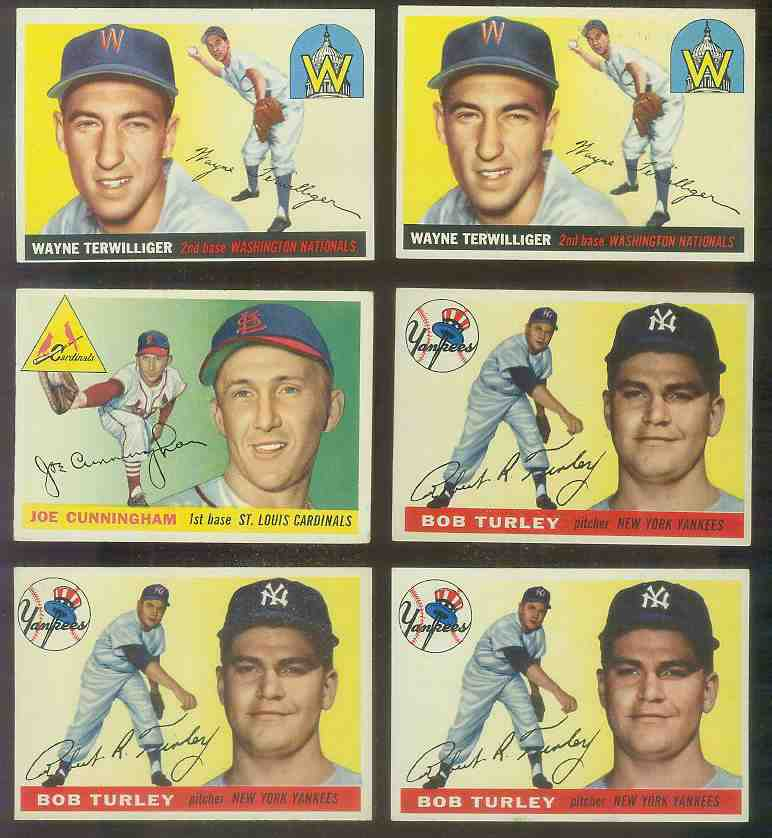 1955 Topps #.38 Bob Turley (Yankees) Baseball cards value