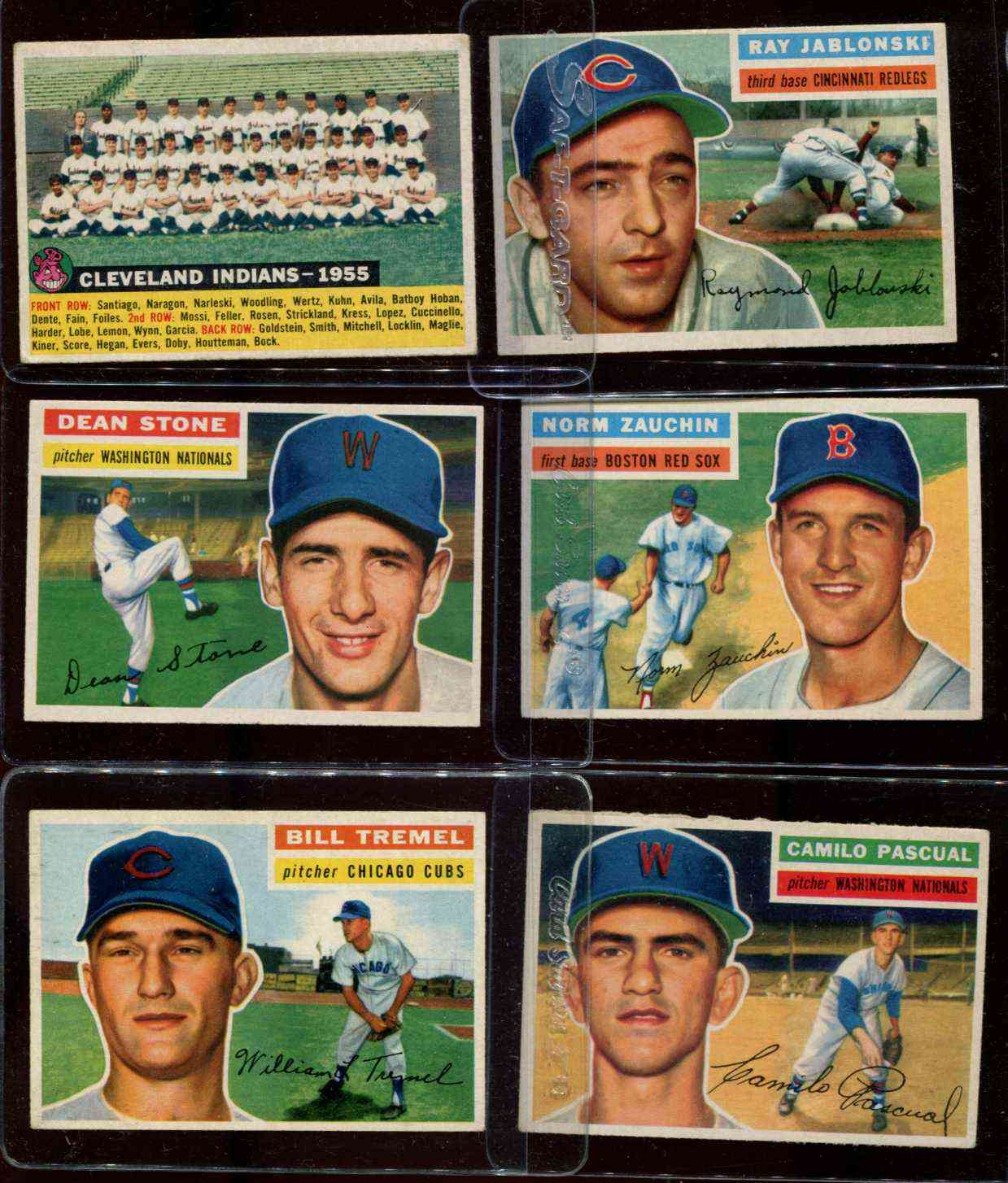 1956 Topps #.98 Camilo Pascual (Washington Nationals/Senators) Baseball cards value