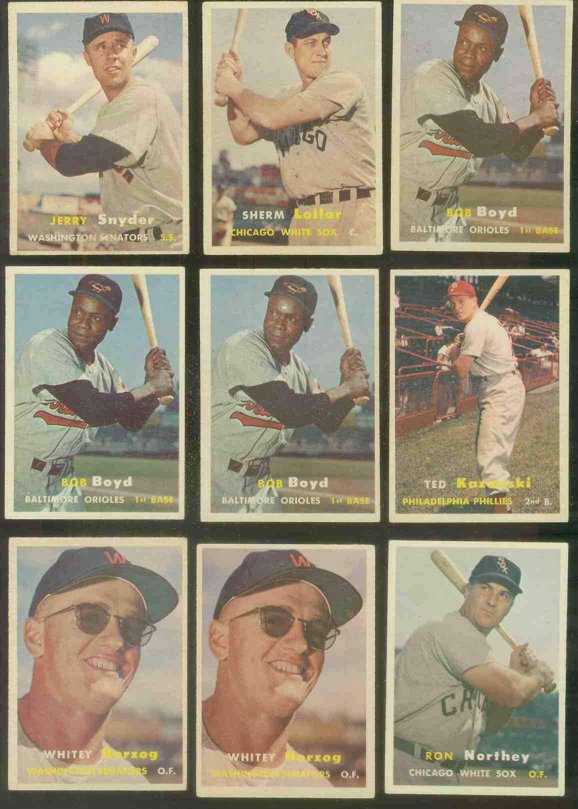 1957 Topps #.27 Ted Kazanski (Phillies) Baseball cards value