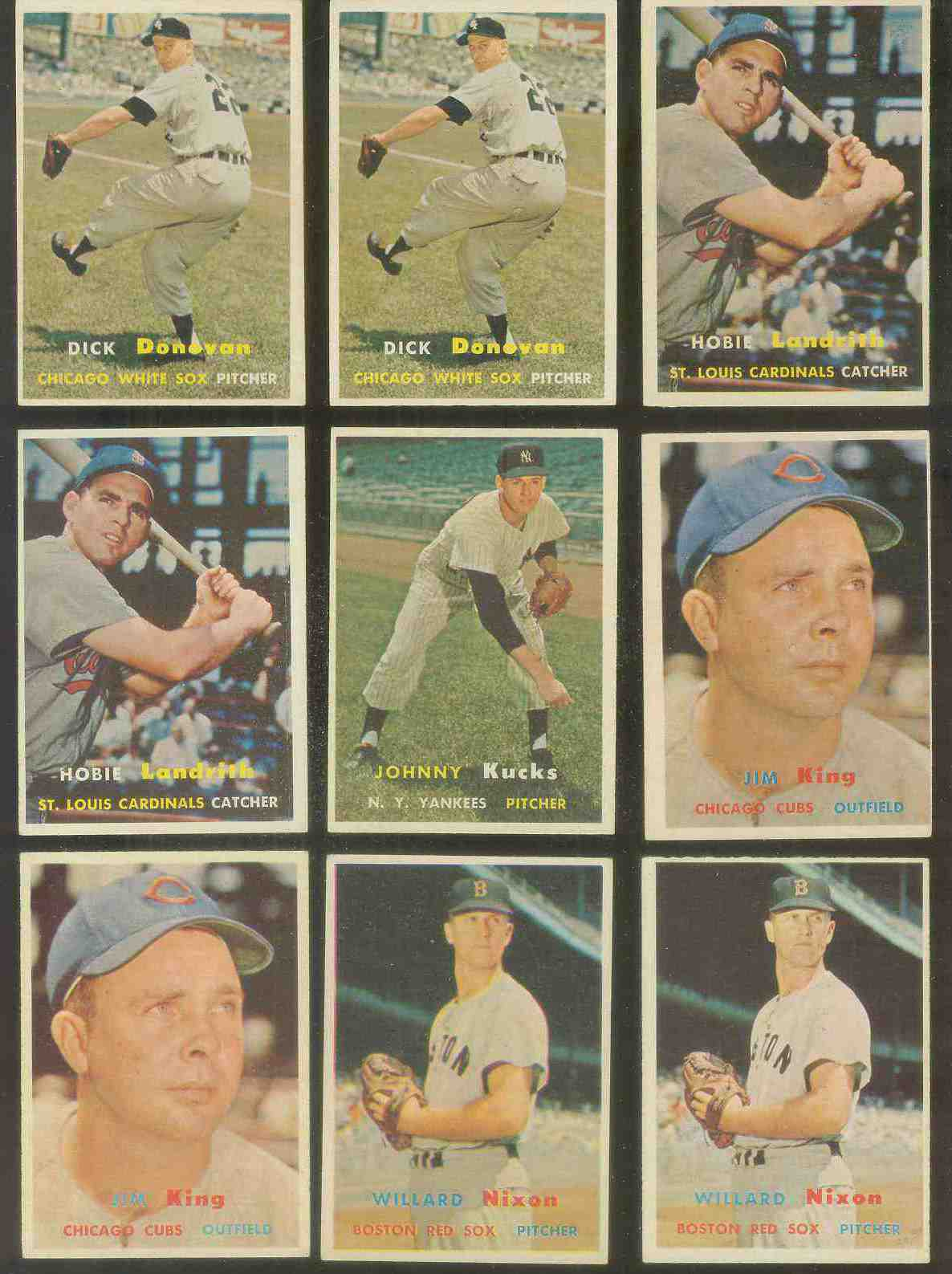 1957 Topps #185 Johnny Kucks (Yankees) Baseball cards value