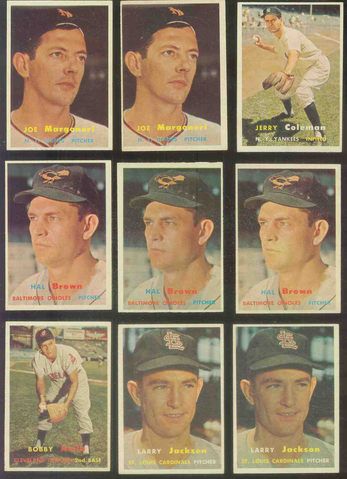 1957 Topps #194 Hal Brown (Orioles) Baseball cards value