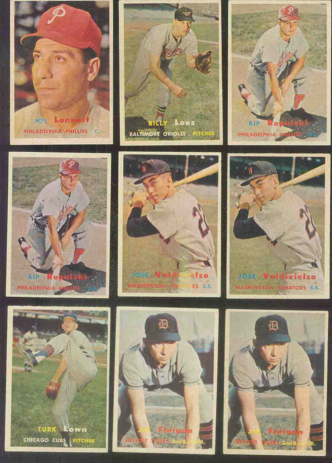 1957 Topps #244 Billy Loes (Orioles) Baseball cards value