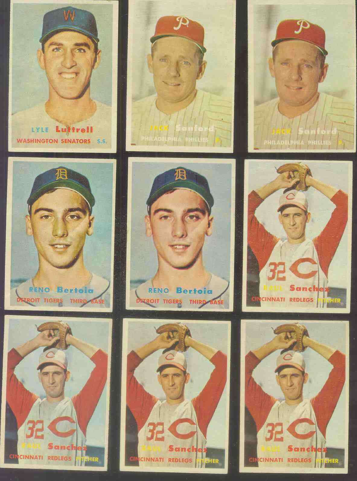 1957 Topps #387 Jack Sanford ROOKIE (Phillies) Baseball cards value