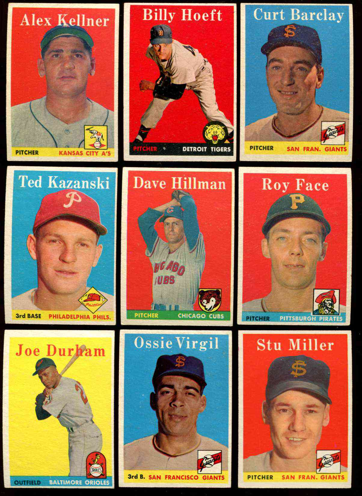 1958 Topps #.74 Roy Face [#x] (Pirates) Baseball cards value