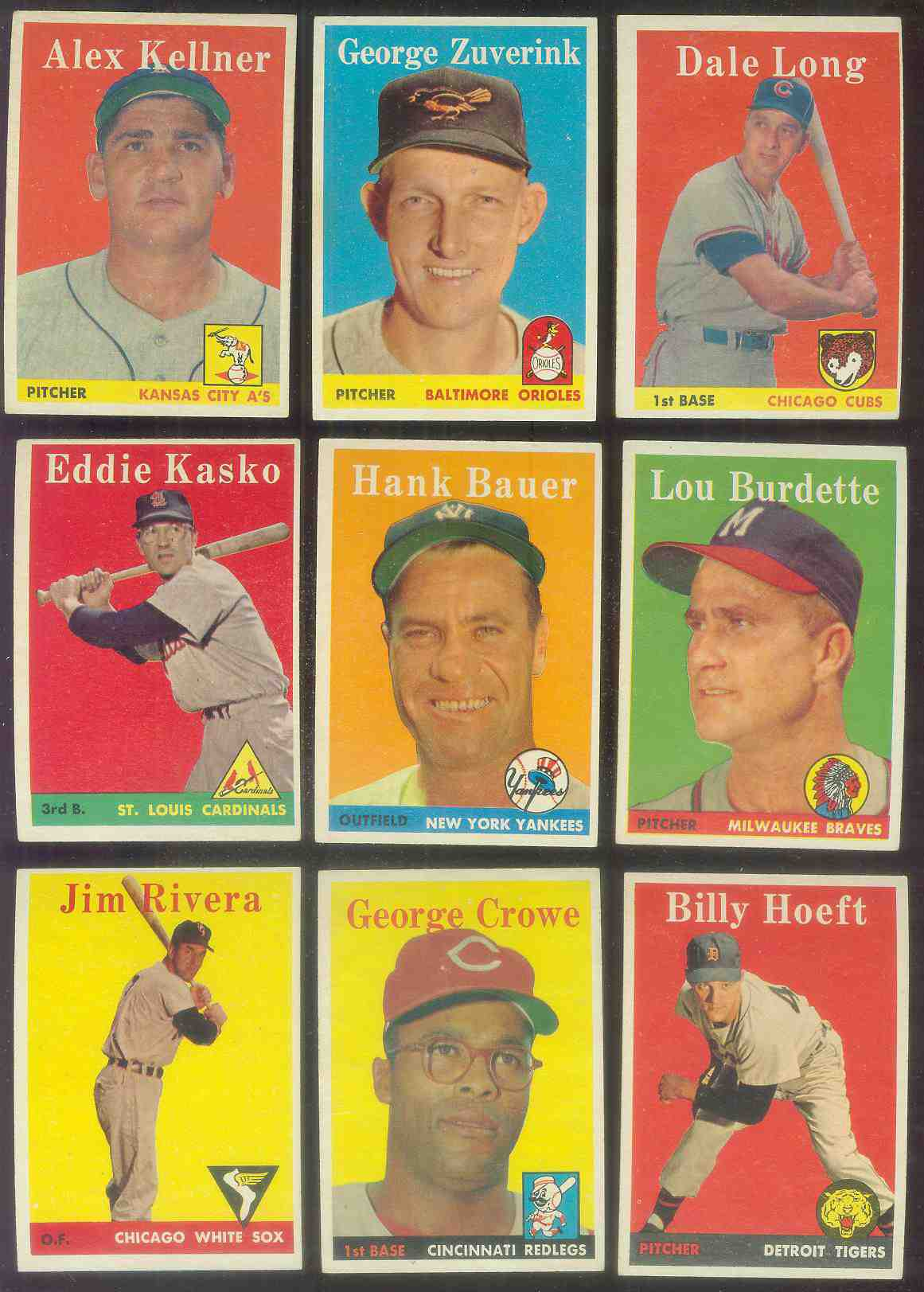 1958 Topps #..6 George Zuverink (Orioles) Baseball cards value