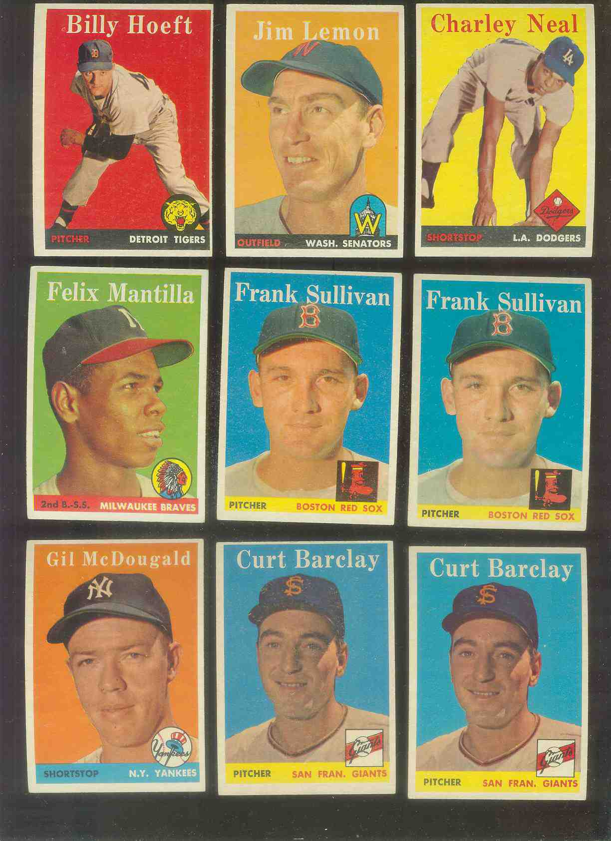 1958 Topps #.15 Jim Lemon (Senators) Baseball cards value