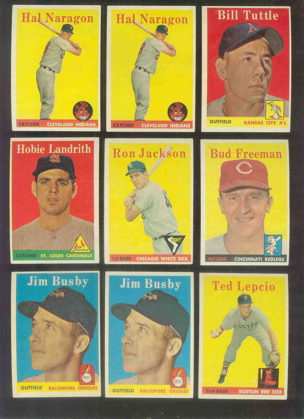 1958 Topps #.24 Hobie Landrith (Cardinals) Baseball cards value