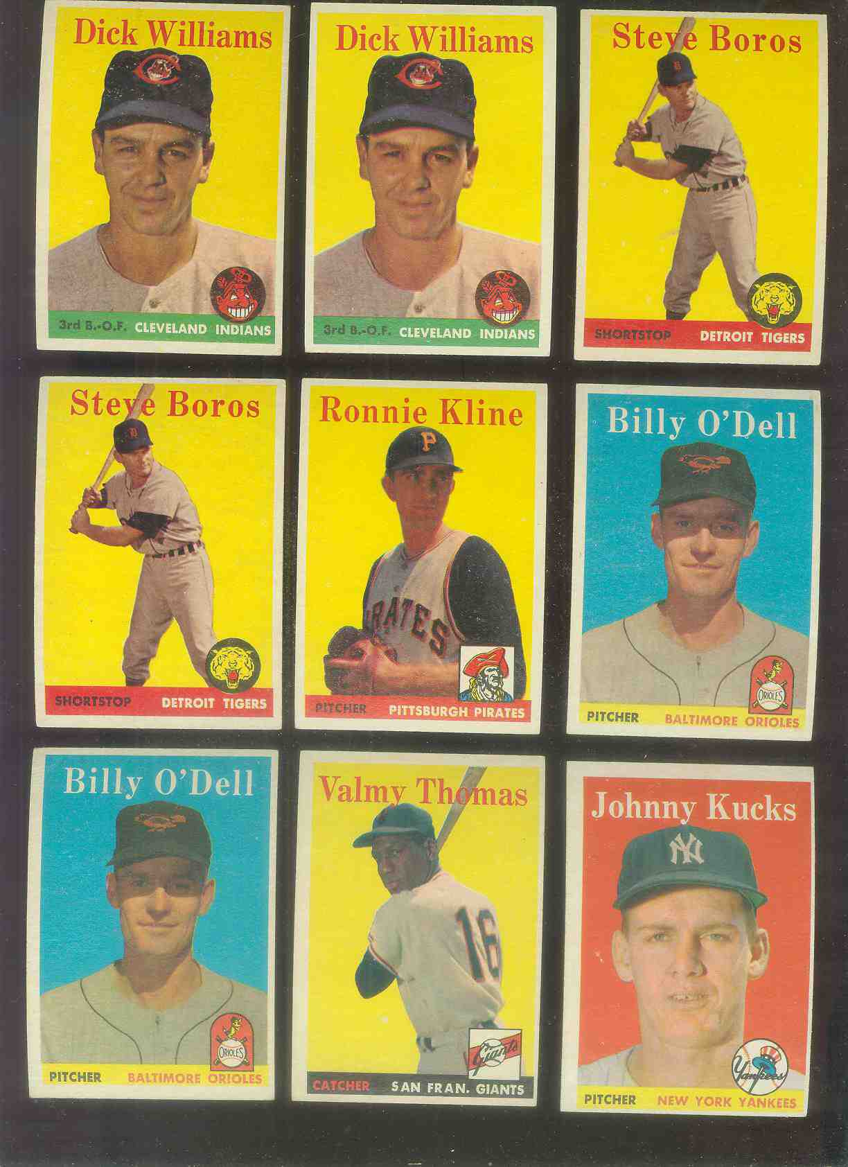 1958 Topps #.86 Valmy Thomas (Giants) Baseball cards value