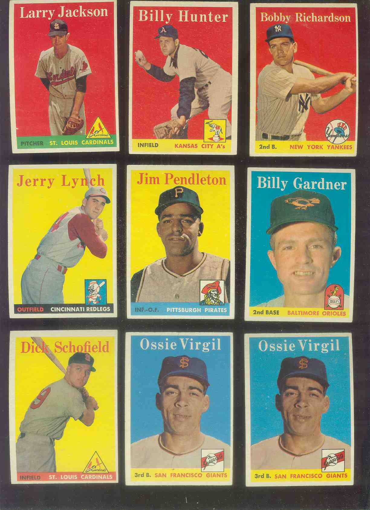 1958 Topps #106 Dick Schofield (Cardinals) Baseball cards value