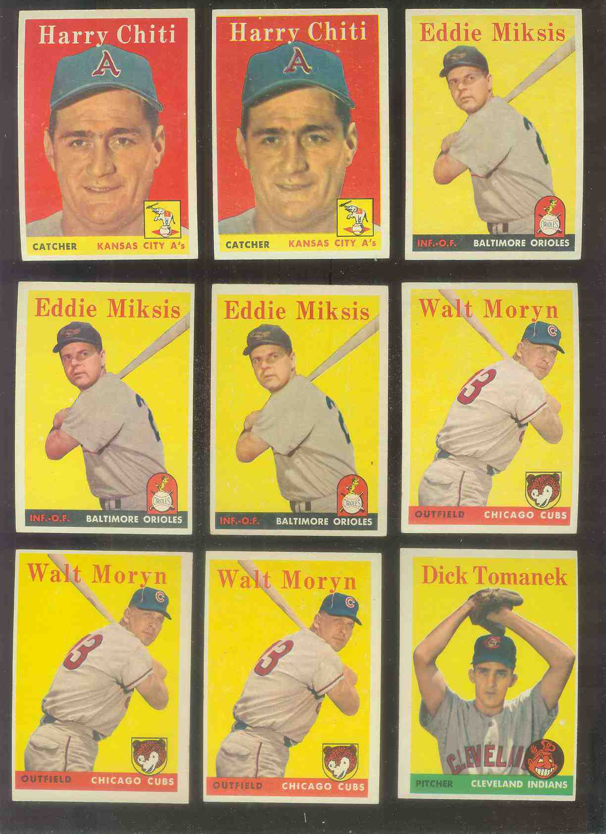1958 Topps #122 Walt Moryn (Cubs) Baseball cards value