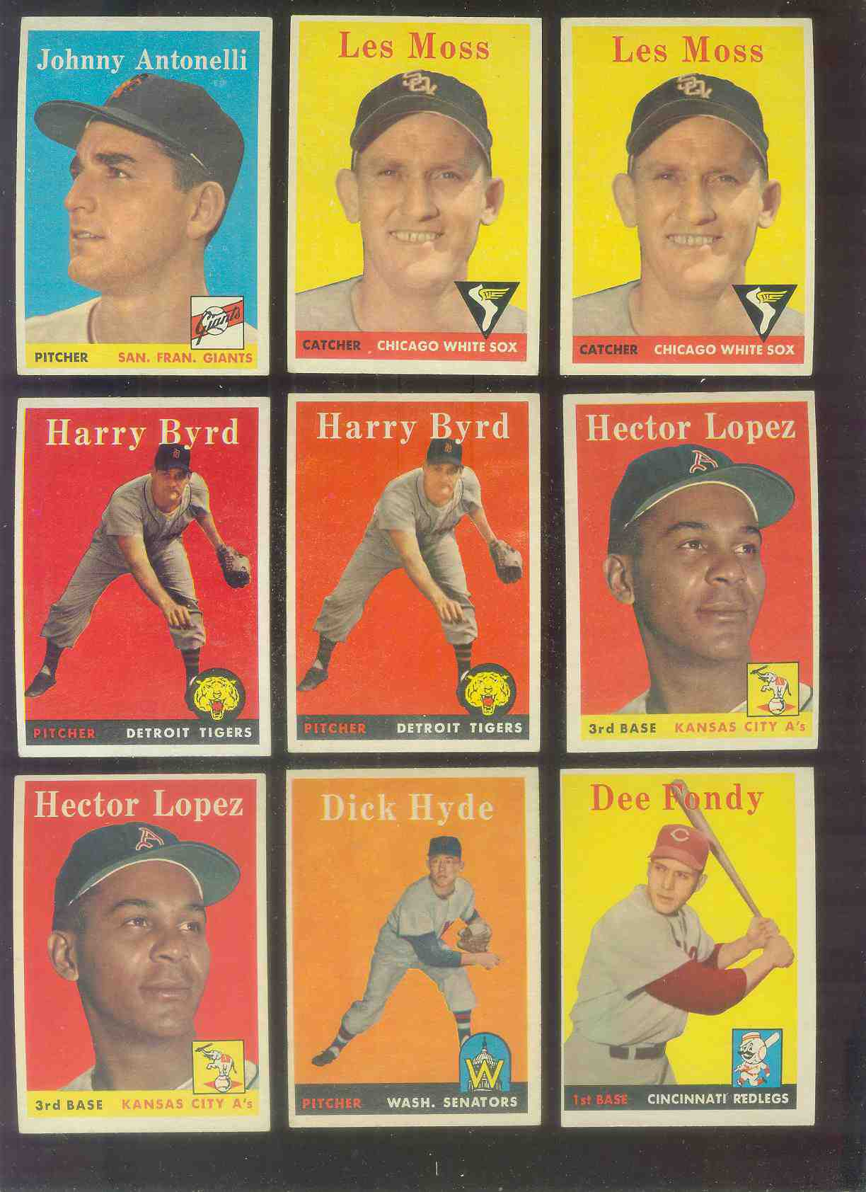 1958 Topps #155 Hector Lopez (Kansas City A's) Baseball cards value