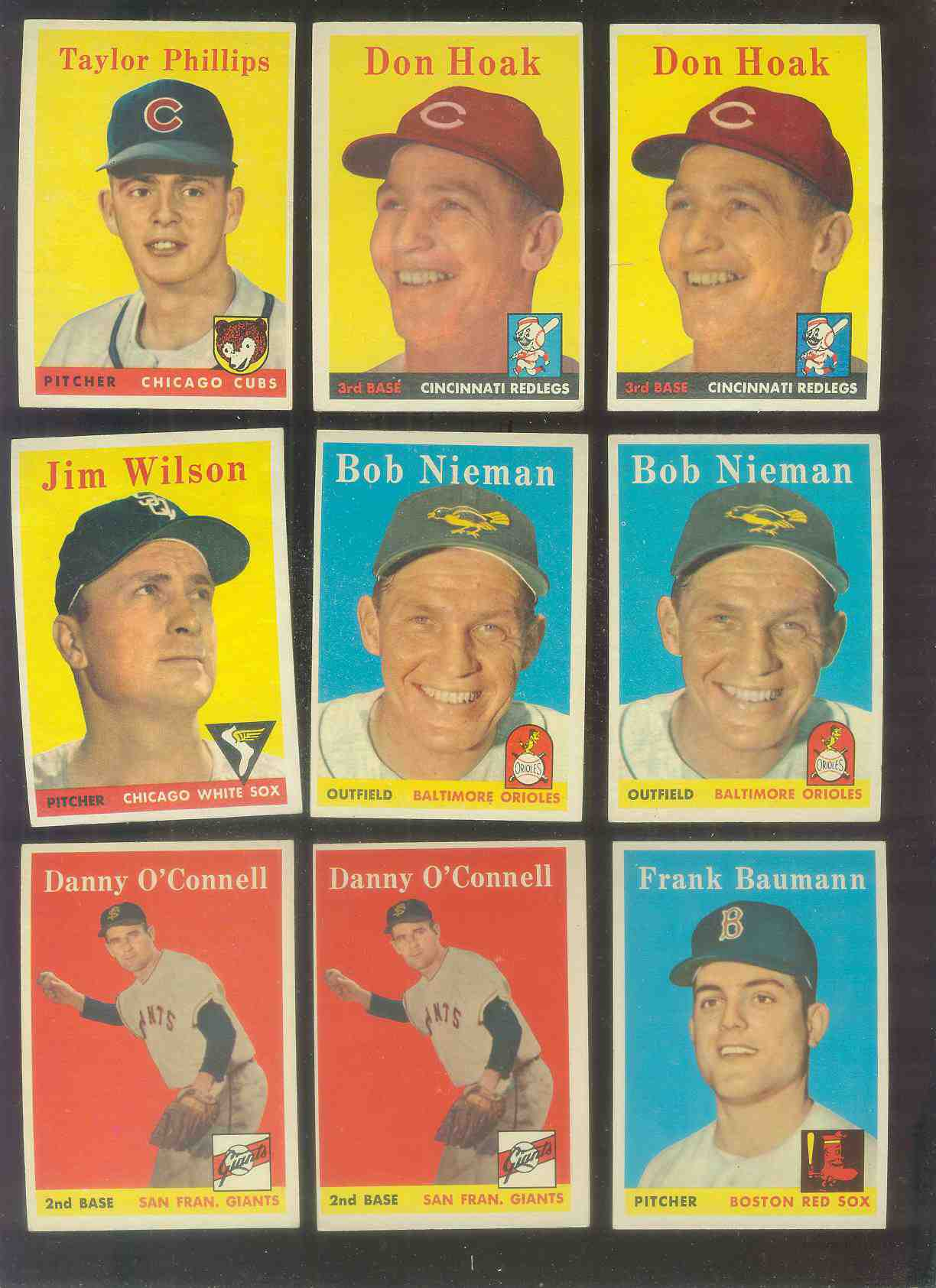 1958 Topps #167 Frank Baumann (Red Sox) Baseball cards value