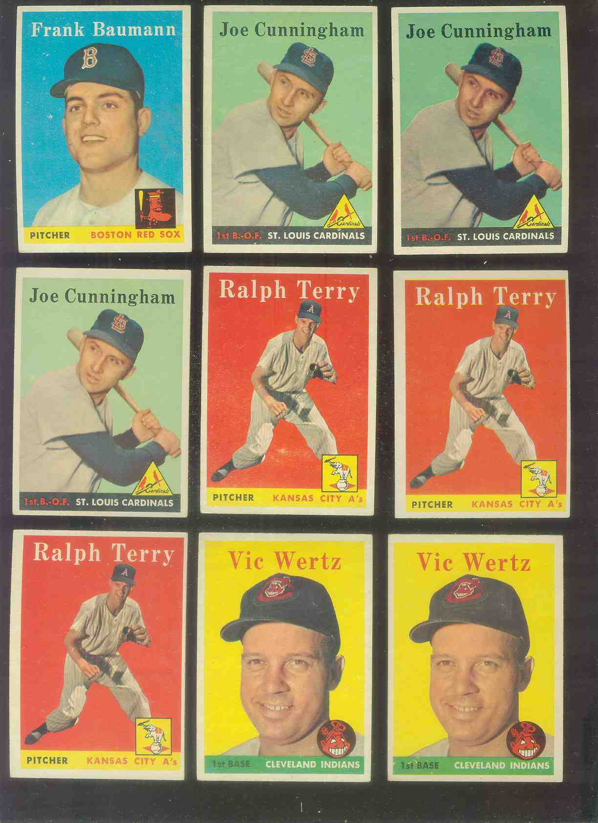 1958 Topps #169 Ralph Terry (Kansas City A's) Baseball cards value