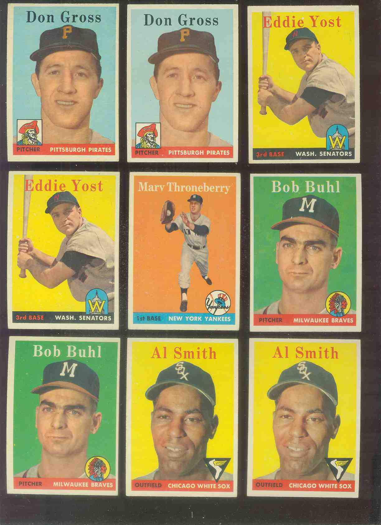 1958 Topps #176 Bob Buhl (Braves) Baseball cards value