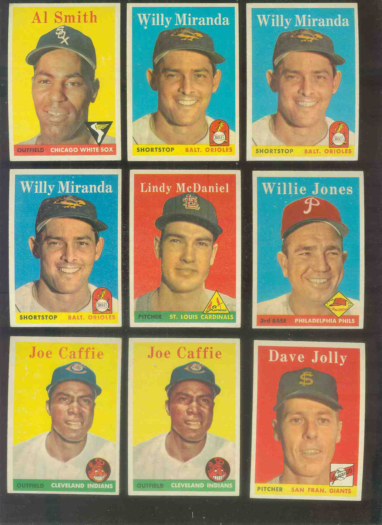1958 Topps #180 Lindy McDaniel (Cardinals) Baseball cards value