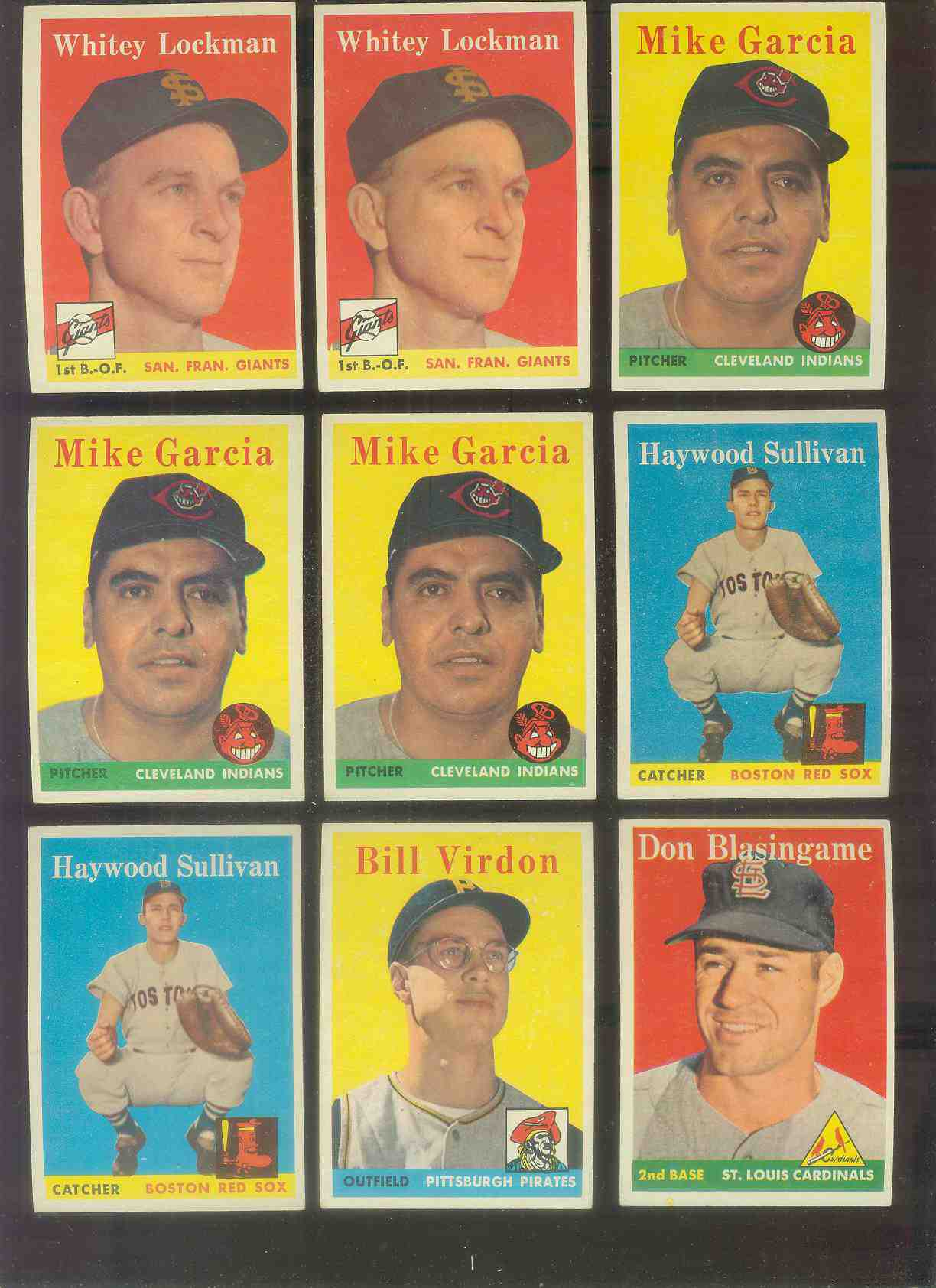 1958 Topps #196 Mike Garcia (Indians) Baseball cards value