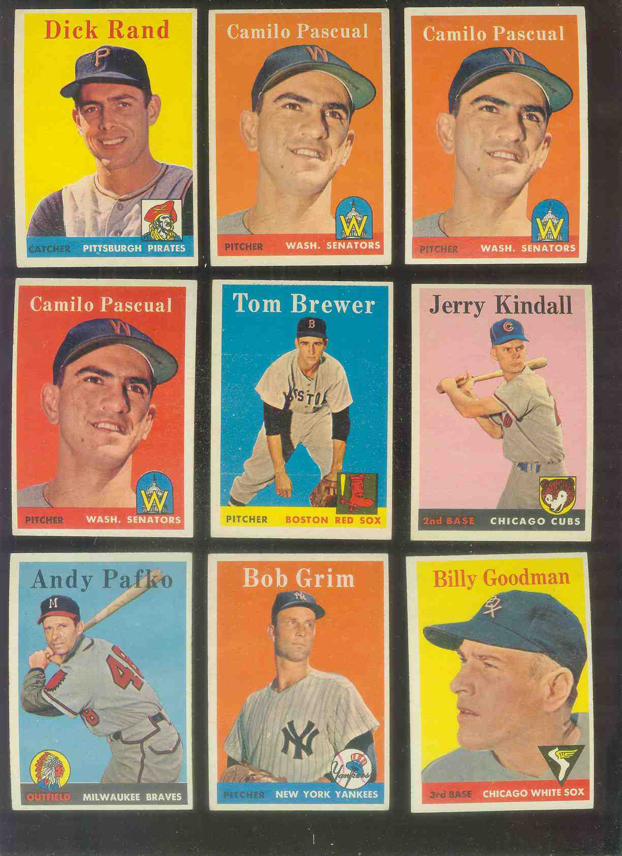 1958 Topps #225 Billy Goodman (White Sox) Baseball cards value