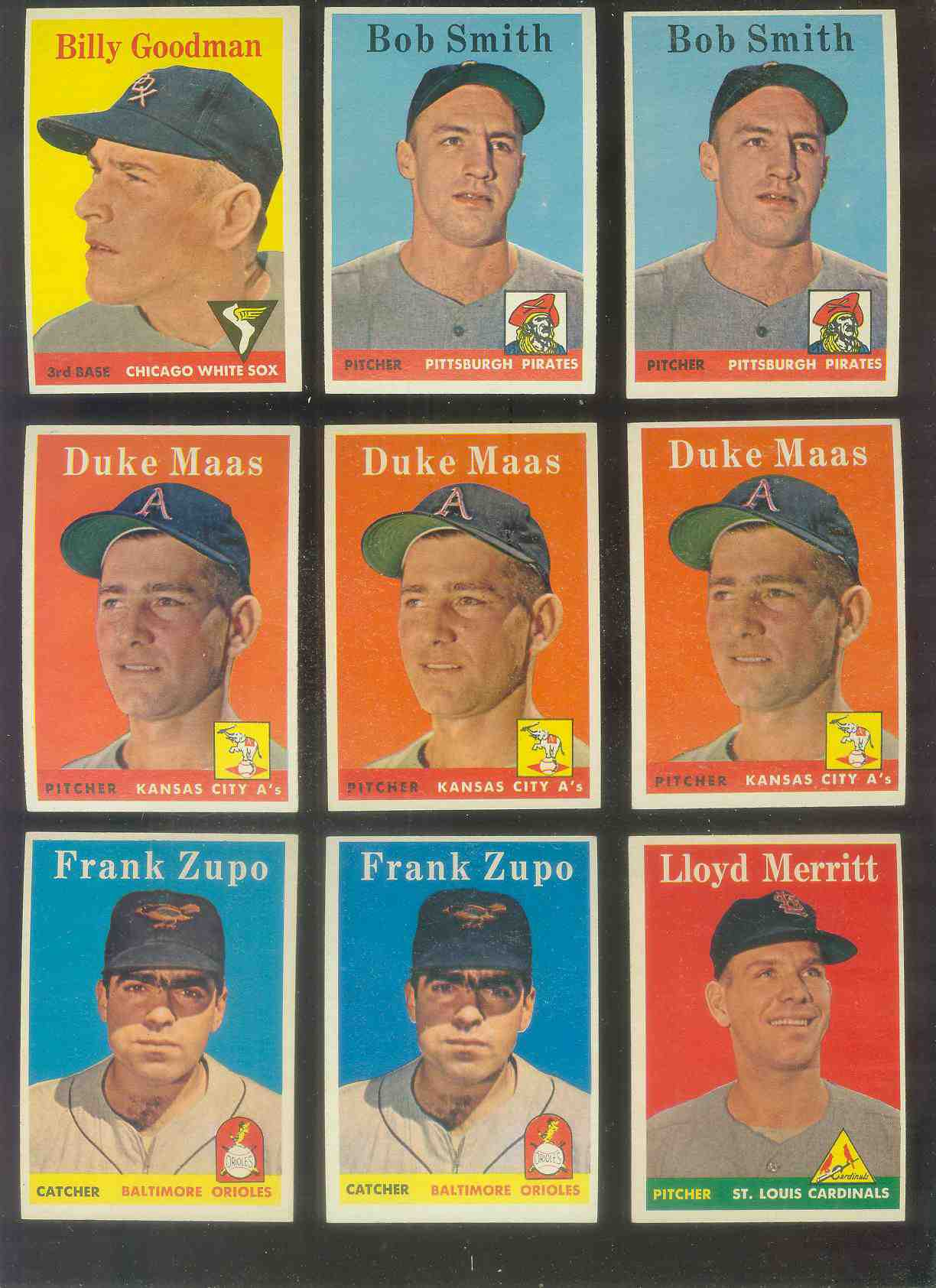 1958 Topps #226 Bob Smith (Pirates) Baseball cards value