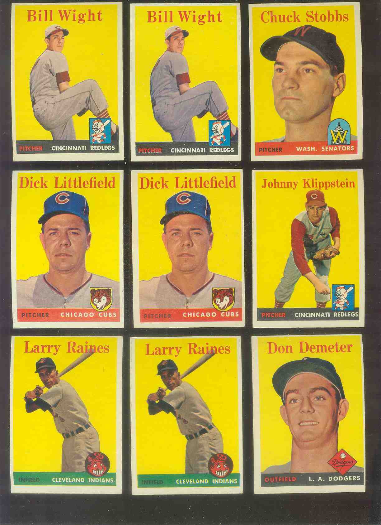 1958 Topps #244 Don Demeter (Dodgers) Baseball cards value