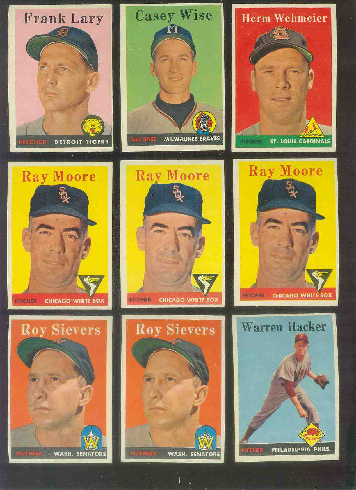 1958 Topps #248 Herman Wehmeier (Cardinals) Baseball cards value
