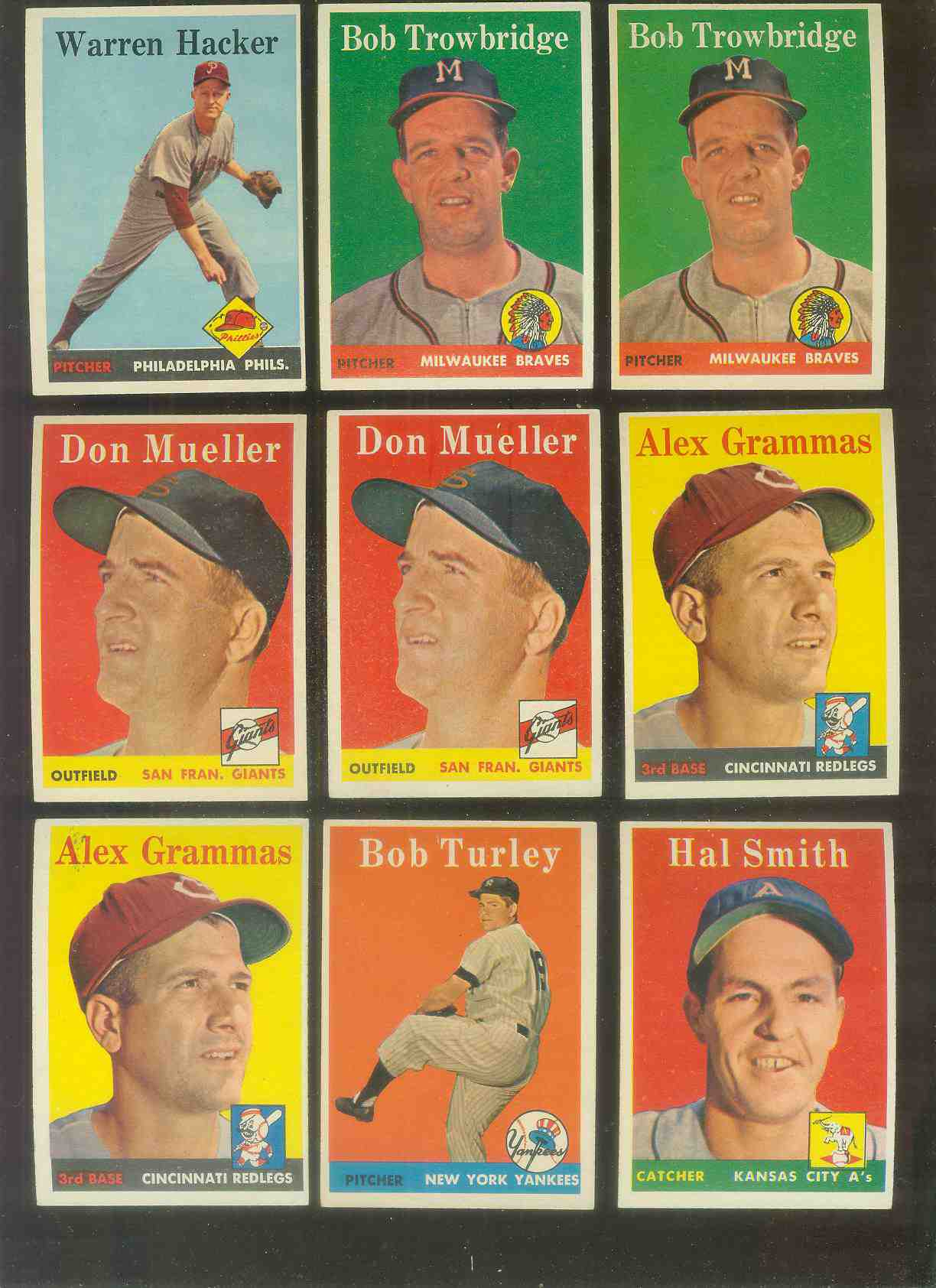 1958 Topps #253 Don Mueller (Giants) Baseball cards value