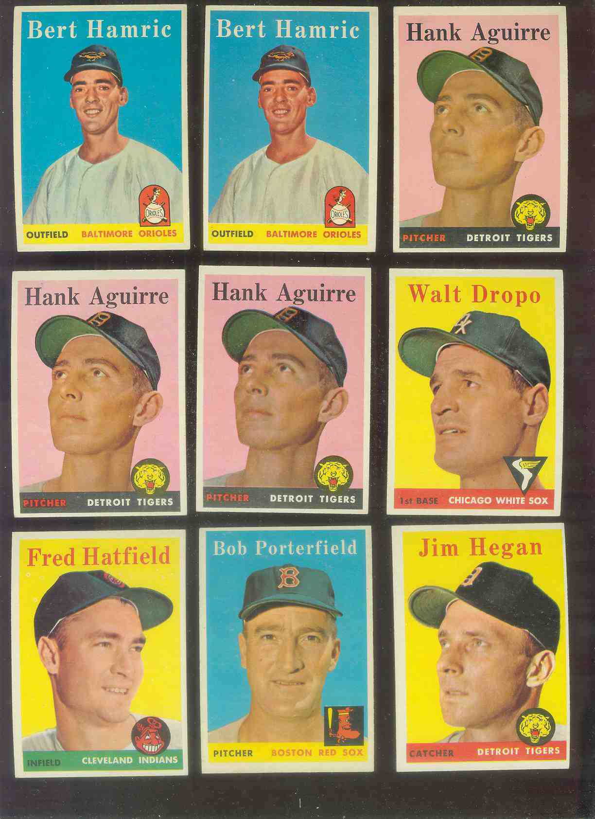 1958 Topps #339 Fred Hatfield (Indians) Baseball cards value