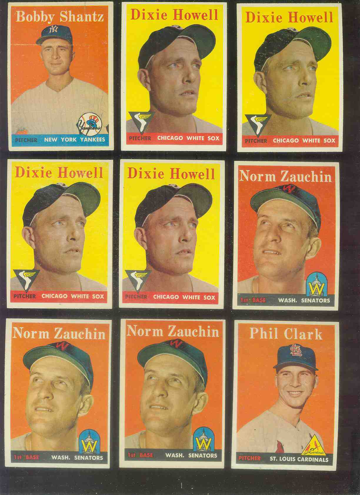 1958 Topps #423 Phil Clark (Cardinals) Baseball cards value