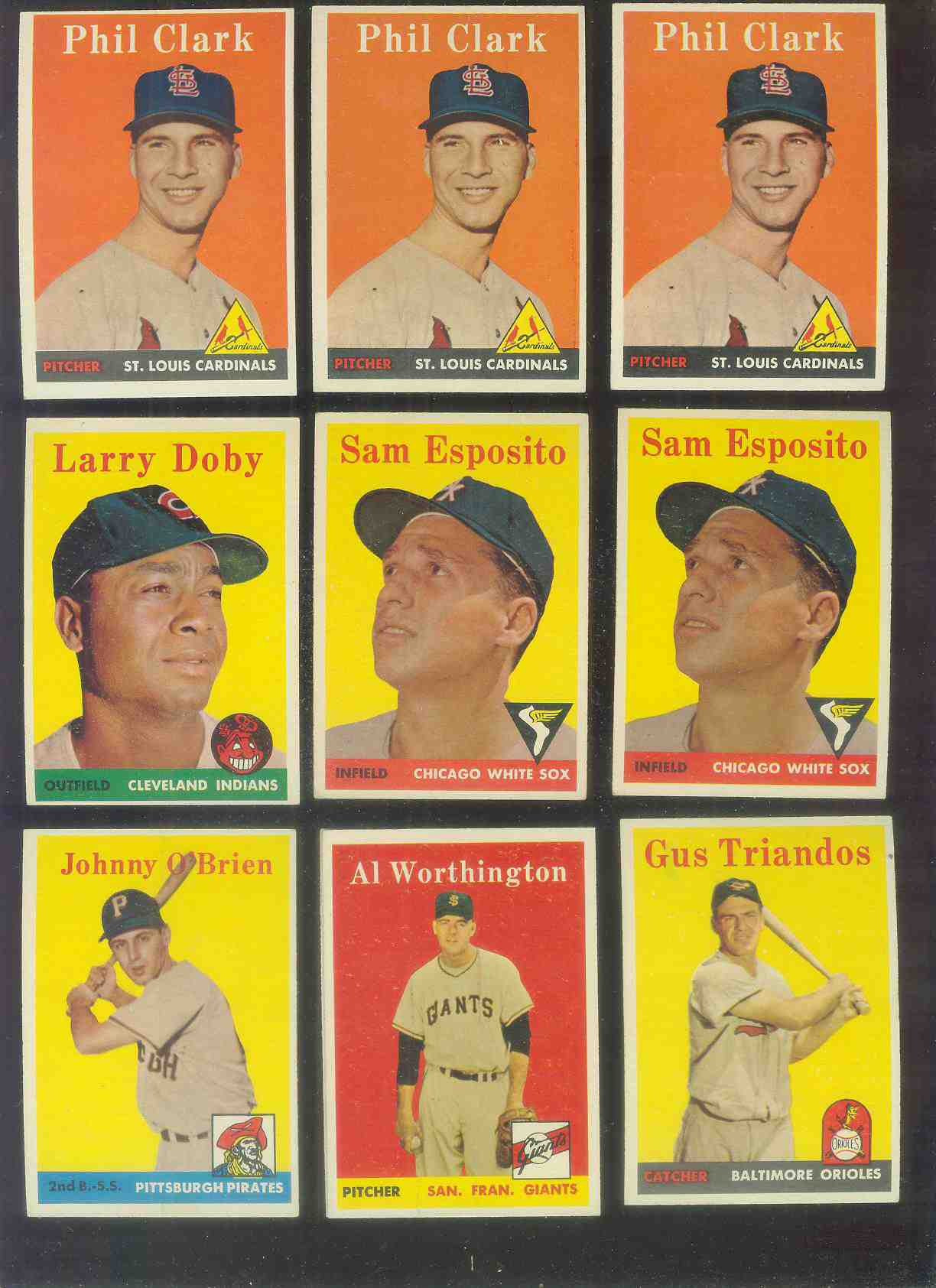 1958 Topps #426 Johnny O'Brien (Pirates) Baseball cards value