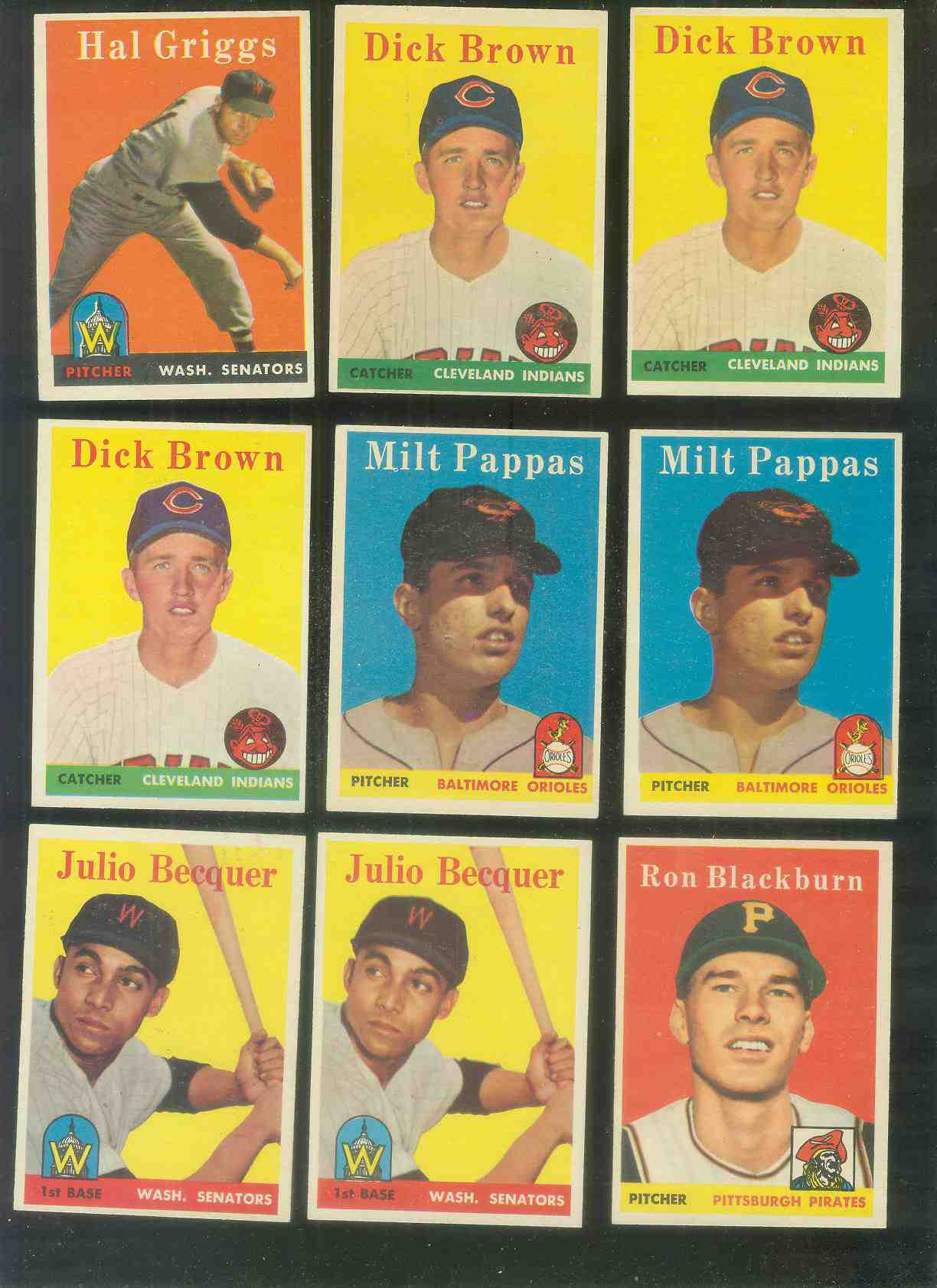 1958 Topps #457 Milt Pappas ROOKIE (Orioles) Baseball cards value