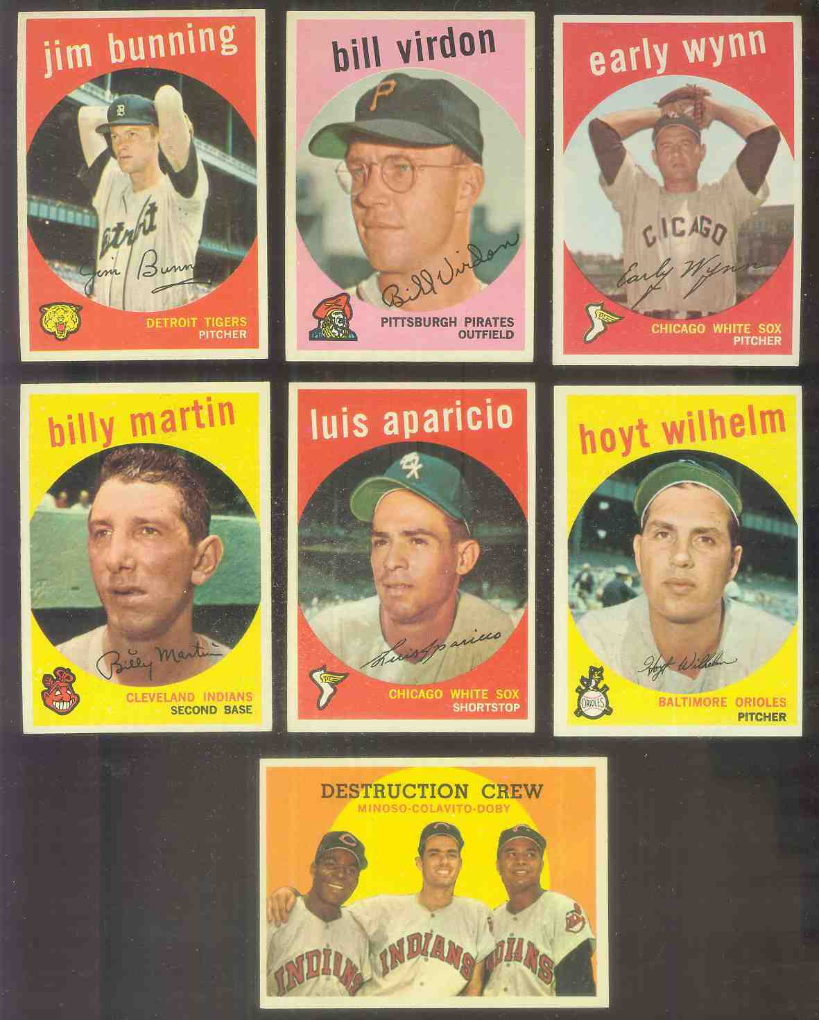 1959 Topps #310 Luis Aparicio (White Sox) Baseball cards value