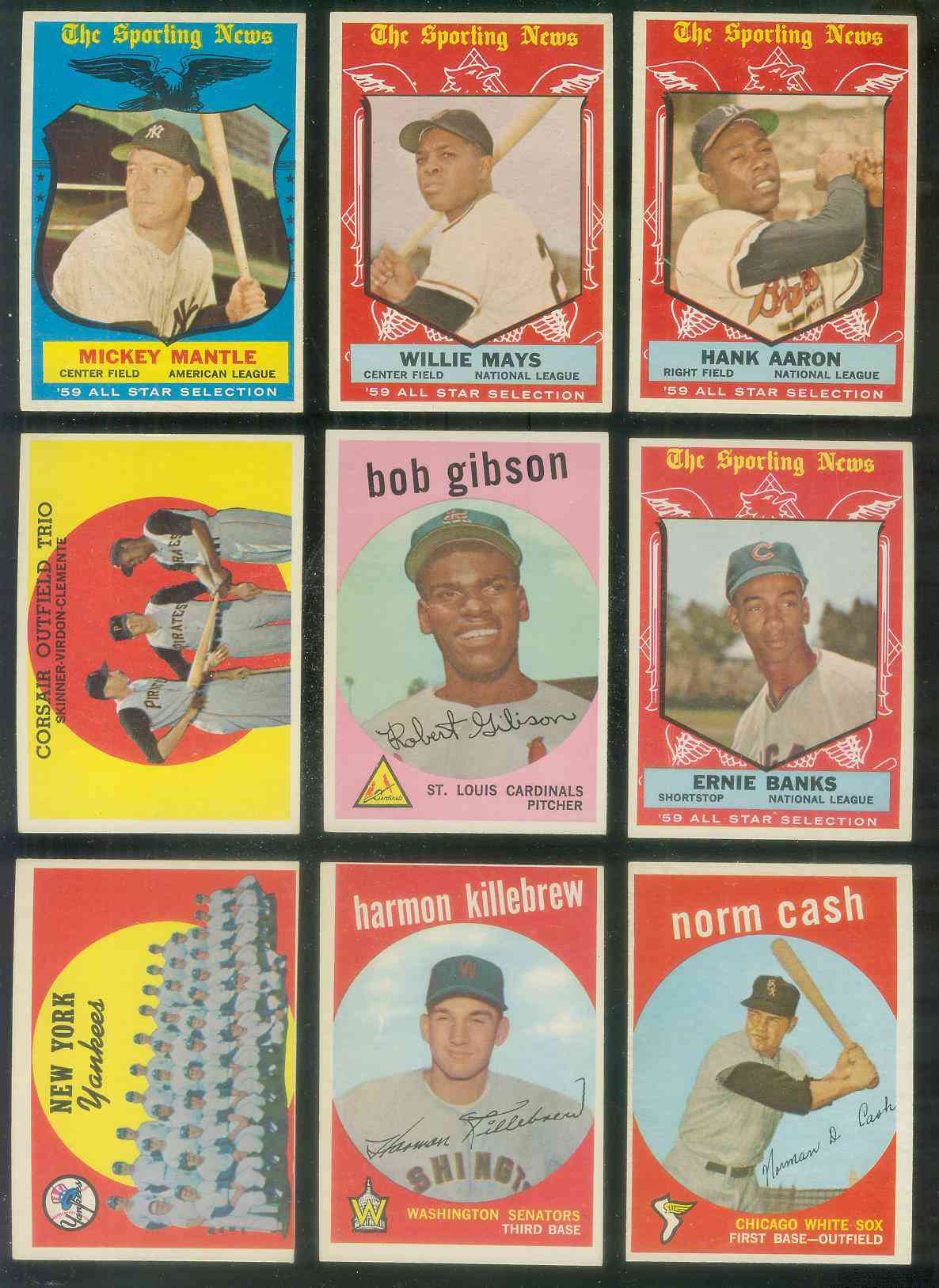 1959 Topps #514 Bob Gibson ROOKIE SCARCE HIGH #.[#j] (Cardinals) Baseball cards value