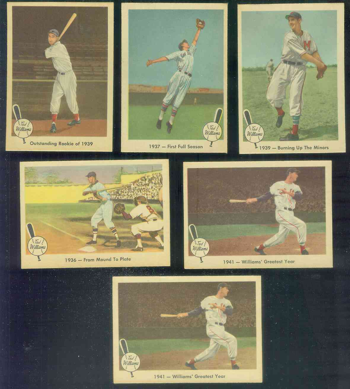 1959 Fleer Ted Williams #14 'Outstanding Rookie of 1939' (Red Sox) Baseball cards value