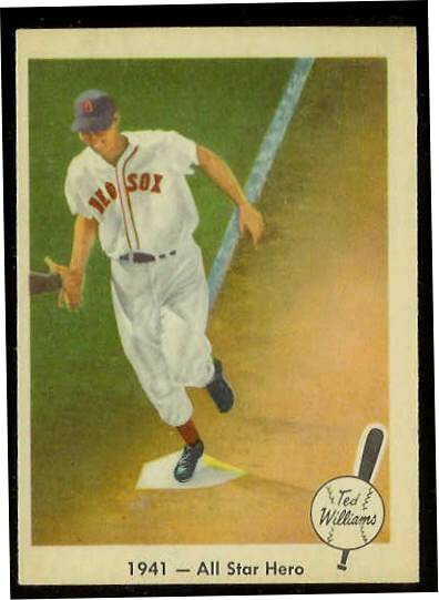 1959 Fleer Ted Williams #18 '1941 All Star Hero' (Red Sox) Baseball cards value