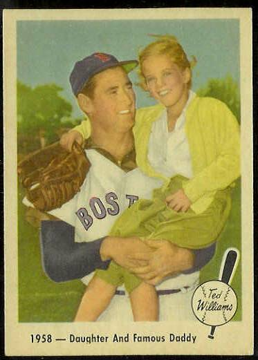 1959 Fleer Ted Williams #64 'Daughter and Daddy' (Red Sox) Baseball cards value