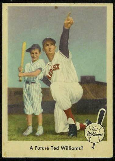 1959 Fleer Ted Williams #69 'A Future Ted Williams' (Red Sox) Baseball cards value
