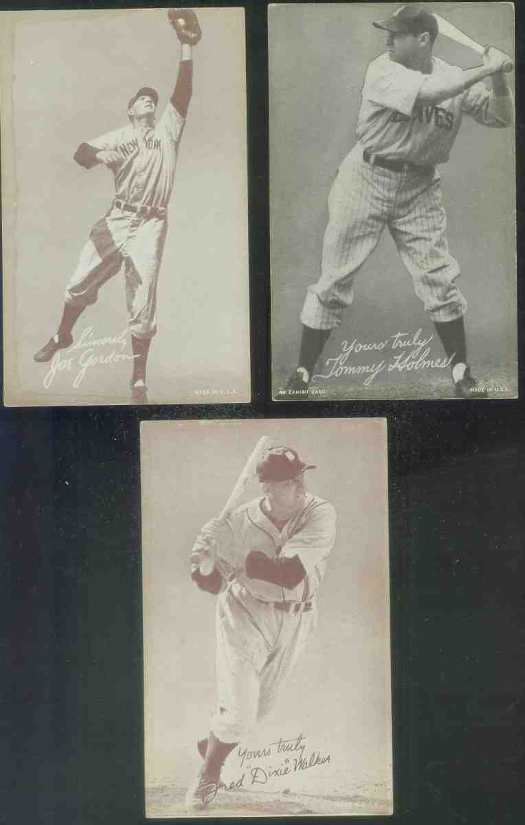 1939-46 Salutation Exhibits #53 Fred 'Dixie' Walker [#x] ('D' blanked out) Baseball cards value