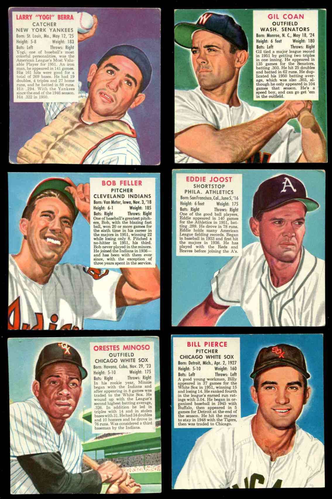 1952 Red Man #AL.3 Yogi Berra [#x] (Yankees) Baseball cards value