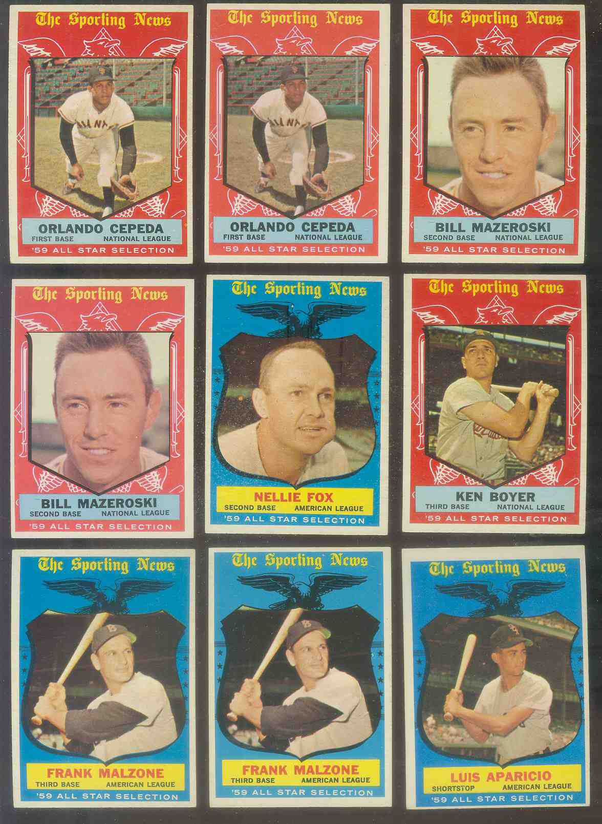 1959 Topps #553 Orlando Cepeda All-Star SCARCE HIGH #.(Giants) Baseball cards value