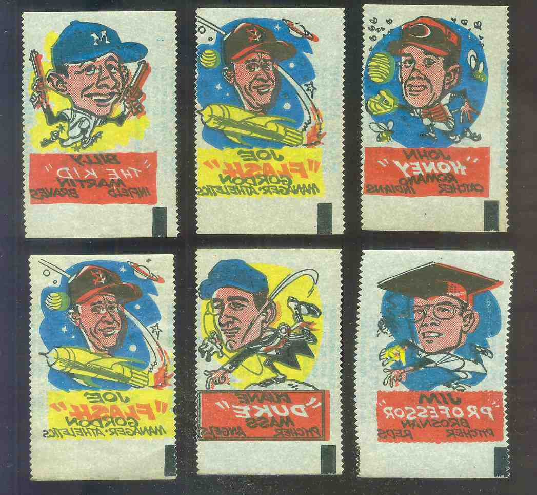 1961 Topps MAGIC RUB-OFFS - Joe 'Flash' Gordon (MGR Athletics) Baseball cards value