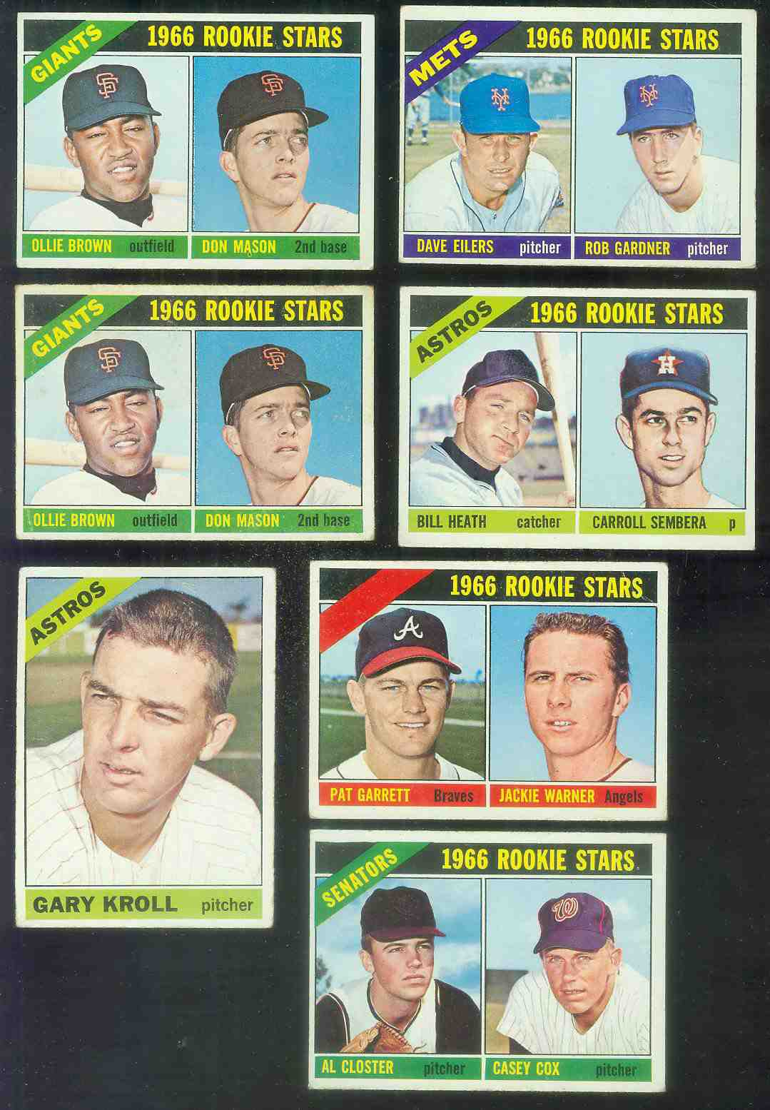 1966 Topps #548 Gary Kroll [#fsc] SCARCE SHORT PRINT HI# (Astros) Baseball cards value