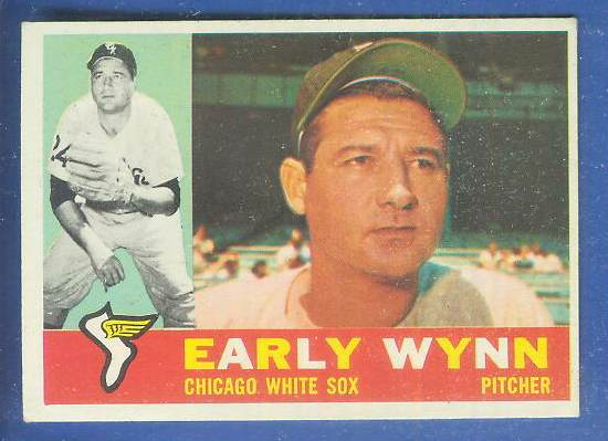 1960 Topps #  1 Early Wynn [#b] (White Sox) Baseball cards value