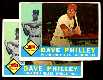 1960 Topps # 52 Dave Philley- Lot of (2) [VAR:Both variations] (Phillies)